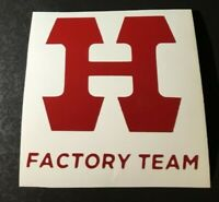 OLD SCHOOL  Hutch BMX Factory Team Decal Sticker PRO  Racer Itson Dominguez 80's