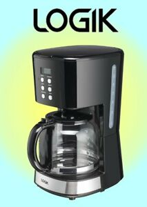 Logik Filter Coffee Maker - Digital Display Black - L14DCB19