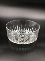 "Arcoroc USA  Crystal Glass Serving Bowl 9""Diamond Starburst"