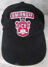 Smirnoff Ice Black Baseball Hat Cap OSFA