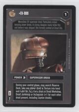 1998 Star Wars Customizable Card Game: Jabba's Palace #NoN EV-909 Gaming 1u8
