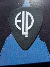 ELP Greg Lake 2010 High Voltage Festival black guitar pick-FREE OFFER!!!