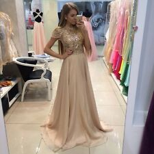 New Arrival Gold Sequins Evening Formal Gowns Custom Made Prom Party Dresses