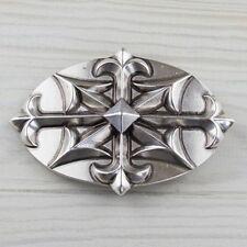 Keltische Gürtelschnalle Silber Kompass Pfeil Spitze Buckle Wechselschließe