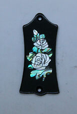 Truss Rod Cover with Roses Inlay 02 will fit Gibson