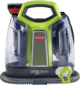 BISSELL 2513E Little Green Proheat Portable Deep Cleaner/ Spot Cleaner
