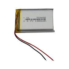 3.7V 1300 mAh Li-Polymer Li Battery Lipo For GPS PDA PSP iPAQ Tablet PC 703450