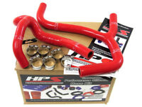 HPS 57-1238-RED Silicone Radiator Coolant Hose Kit Red Fits 03-04 Honda CRF450R