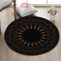 Mandala Home Decor Rugs Non-Slip Yoga Area Rug Bedroom Carpet Round Floor Mat
