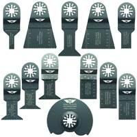 12 x Mix Blades for Aldi Ferrex Makita Makita AEG Multitool Multi Tool