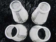 Beautyful Ceiling fan light kit crystal glass shades (set of five)