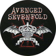 """Avenged Sevenfold schiena ricamate/Back Patch # 7 """"Hail to the King"""""""