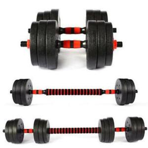 30kg Dumbells Pair of Gym Weights Barbell/Dumbbell Body Building Weight Set