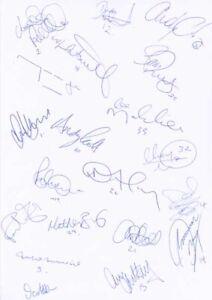 Oxford United FC - Signed Team Sheet - COA (14945)