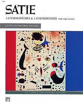Erik Satie Three Gymnopedies & Three Gnossiennes, Sheet Music - 9780739006924