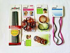 Women's Hair Accessories Scunci Bundle 5 Packs Octopus Clip No Slip Barrette