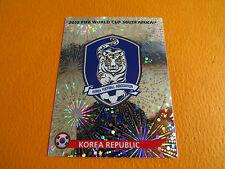 145 BADGE ECUSSON KOREA KFA PANINI FOOTBALL FIFA WORLD CUP 2010 COUPE DU MONDE