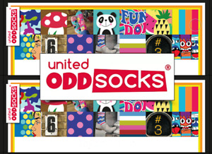 United Oddsocks Ladies, Men's and Children's Odd Socks - Gift Boxed and on SALE!