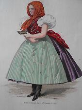 Weltausstellung Wien 1873 Wienerwald handkoloriert Moine & Falconer Paris