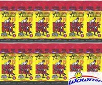 (12) 2017 Topps Heritage Baseball JUMBO FAT Factory Sealed Packs-240 Cards