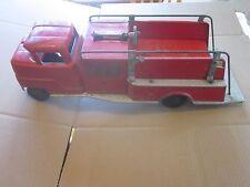 "1950's Vintage Structo Fire Truck - Pumper 19"" long"