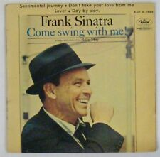 Frank Sinatra 45 Tours Come swing with me 1961