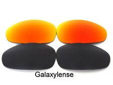 Galaxy Replacement Lenses For Oakley Straight Jacket Black&Red Polarized(1999)
