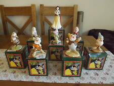 Royal Albert Doulton Snow White and the seven dwarves Limited Edition
