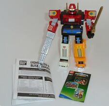 Power Rangers Lightspeed Rescue Megazord With Hydro Mode Complete