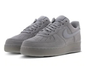 Nike Air Force 1 Low Grey Suede Reflective Men Trainers All Sizes Limited Stock