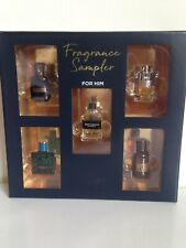 NEW 5-PC SAMPLER FRAGRANCE SET FOR HIM AZZARO GIVENCHY MISSONI VERSACE DSQUARED2