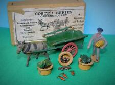 TAYLOR & BARRETT 1930s PRE-WAR LEAD BOXED COSTER SERIES GREENGROCERY DONKEY CART