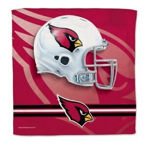 NFL ARIZONA CARDINALS COLLECTORS TOWEL 16 X 16 MICRO FIBER NEW