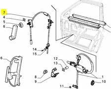 Fiat Uno 5 Door Uno Mondo Front RH Manual Window Regulator 7694565 Genuine New