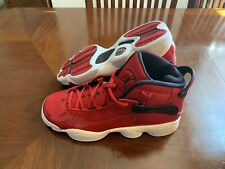 Nike Air Jordan 6 Rings (GS) 'Gym Red' Youth Size 7Y 323419-601 WMNS 8.5