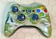 OEM Xbox 360 Wireless Controller Gamepad Halo 4 Camouflage Special Edition
