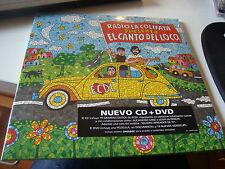 "RAR CD & DVD. EL CANTO DEL LOCO. RADIO COLIFATA. FORMATO 10"" PULGADAS. MINT"