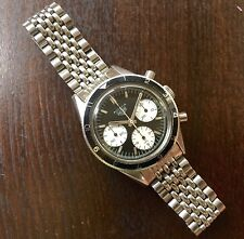 Chronograph vintage watch 19mm Beads of Rice band 1960s/70 to Heuer 2446 10 sold