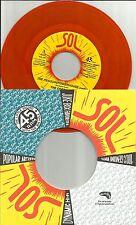 Sea and Cake THE COCTAILS w/ RARE RAYMOND SCOTT Medley ORANGE 7 INCH vinyl 45