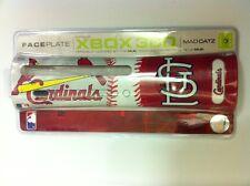 8 wholeale Lot de nouveau ST.LOUIS CARDINALS MLB PLAQUE FRONTALE POUR XBOX 360