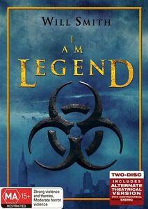 I Am Legend  - 2 Disc Steelbook Set (DVD, 2008, 2-Disc Set)