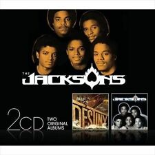 Destiny/Triumph by The Jacksons (CD, Sep-2010, 2 Discs) Extra Tracks