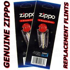 Zippo 2 Lighter Flint Paks 12 Flints in all ACCESSORIES