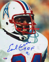 Earl Campbell autographed 8x10 photo RP