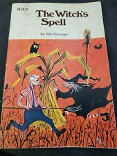 THE WITCH'S SPELL by Ida DeLage (Paperback, 1966) Gil Miret WITCHCRAFT Vtg (mb)