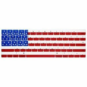 """American Flag Keyboard Cover for MacBook Pro 13"""" 15"""" A1706 /07 A1989 /90 A2159"""