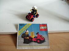 Lego Fire Brigade car (lego nr: 6611)