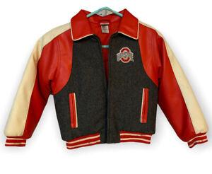 Kid Athlete Ohio State Jacket Size 7