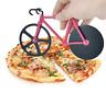Fahrrad-Pizza-Schneider Dual Slicer Edelstahl Pizza Räder Antihaft Neu