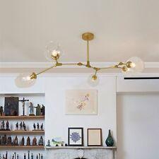 Modern Ceiling Lights Kitchen Lamp Glass Pendant Light Gold Chandelier Lighting